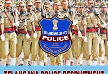 Telangana Police Recruitment 2018