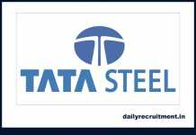 TATA Steel Recruitment 2019
