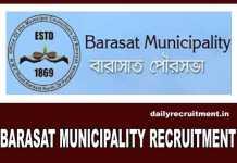 Barasat Municipality Recruitment