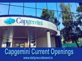 Capgemini Current Openings