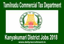 Kanyakumari District Jobs 2018