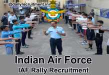 Indian Air Force Recruitment Rally 2018