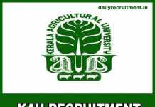 KAU Recruitment