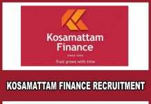 Kosamattam Finance Recruitment