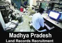 MP Land Records Recruitment 2018