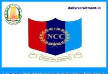 NCC Chennai Recruitment 2019