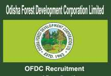 OFDC Recruitment 2018