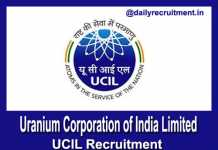 UCIL Recruitment 2019