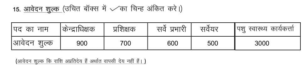 BPNL Application Fee