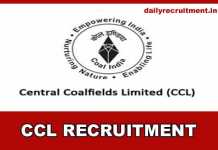 CCL Recruitment 2019