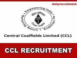 CCL Recruitment 2019