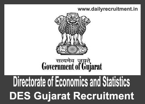 DES Gujarat Recruitment 2018