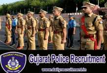 Gujarat Police Recruitment 2018