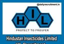 HIL Recruitment 2019