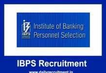 IBPS PO VIII Notification 2018-19
