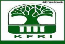 KFRI Recruitment