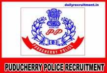 Puducherry Police Recruitment