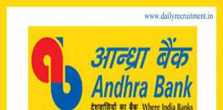 Andhra Bank Recruitment 2019
