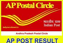 AP Post Result 2018