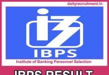 IBPS RRB VII Result 2018