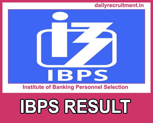 IBPS AFO Final Result 2021