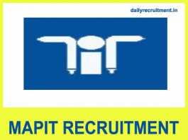 MAPIT Recruitment 2018