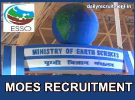 MOES Recruitment 2018
