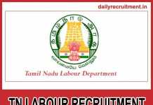 TN Labour Recruitment 2018