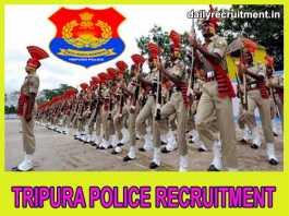 Tripura Police Recruitment 2019