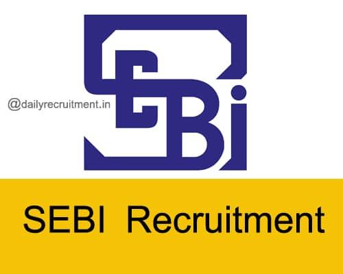 SEBI Recruitment