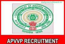APVVP Recruitment 2018