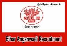 Bihar Anganwadi Recruitment 2018