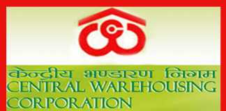 Central Warehousing Recruitment 2019
