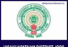 Visakhapatnam District Jobs 2019