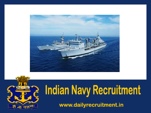 Indian Navy Tradesman Recruitment 2021