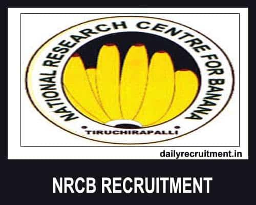 NRCB Recruitment 2020
