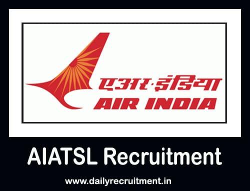 AIATSL Recruitment 2021