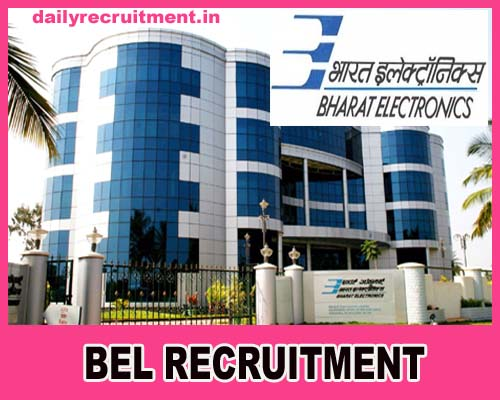 BEL Recruitment 2021