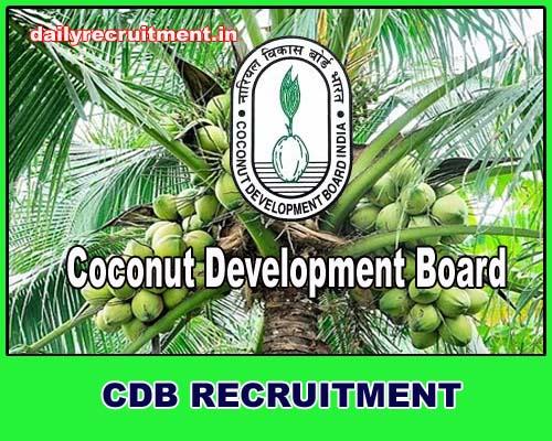 CDB Recruitment 2019