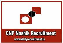 CNP Nashik Recruitment 2019