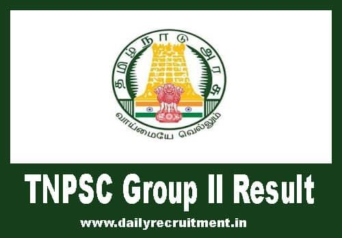 TNPSC Group 2 Result 2019