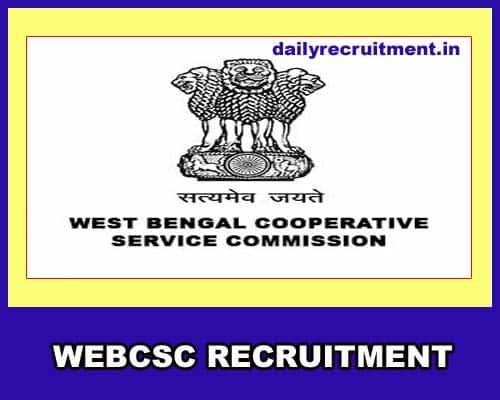 WEBCSC Recruitment