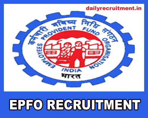 EPFO Recruitment 2019, 2189 Social Security Assistant (SSA)& Other