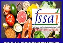FSSAI Recruitment 2019