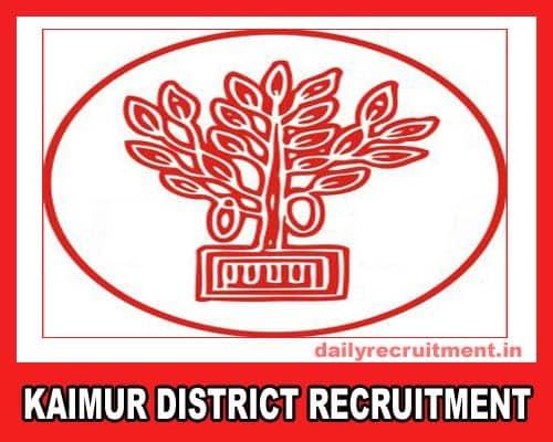 Kaimur District Recruitment