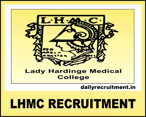 LHMC Recruitment 2020