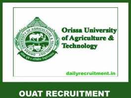 OUAT Recruitment 2019