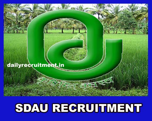 SDAU Recruitment 2019