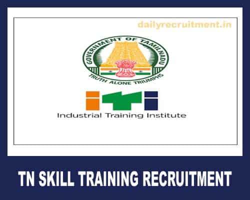 TN Skill Training Recruitment 2020