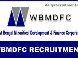 WBMDFC Recruitment 2019